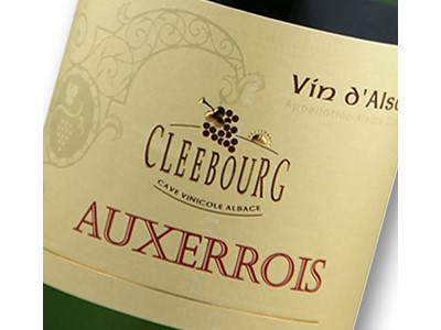 Cleebourg Auxerrois 2014